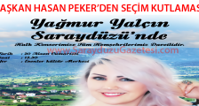Başkan Hasan Peker'in Seçim Kutlamasına Davetlisiniz.